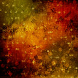 Abstract ancient background in scrapbooking style Royalty Free Stock Images