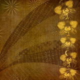 Abstract ancient background in scrapbooking style Royalty Free Stock Photos