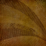 Abstract ancient background in scrapbooking style. With ornamental stock illustration