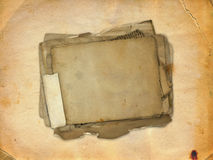 Abstract ancient brown background Stock Images