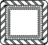 Abstract ancient frame. Made in adobe illustrator royalty free illustration