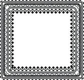 Abstract ancient frame Royalty Free Stock Image