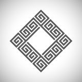 Abstract ancient square frame. Vector abstract ancient square frame Stock Images