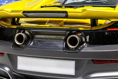 Abstract Angle Supercar royalty free stock images