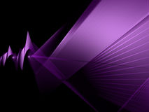 Abstract angle wave. Violet background royalty free illustration
