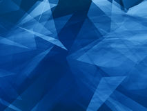Abstract angle wave. Blue background royalty free illustration