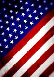 Abstract Angled US Flag Stock Photography