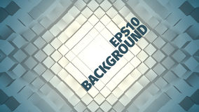 Abstract angular  background. Grid of boxes. Geometric field. Web banner Stock Photos