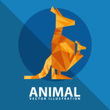 Abstract animal. Design,  illustration eps10 graphic Stock Photo