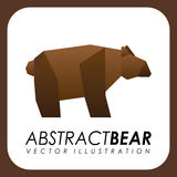 Abstract animal design. Vector illustration Stock Photos