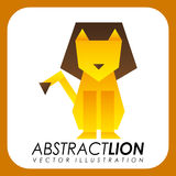 Abstract animal design. Vector illustration royalty free illustration