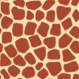 Abstract animal giraffe fur seamless pattern. Abstract animal giraffe fur seamless pattern, vector illustration. Brown spots on a beige background, giraffe skin vector illustration