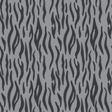 Abstract animal print. Seamless vector pattern with tiger stripe. S. Textile repeating tiger fur background Royalty Free Stock Images