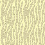 Abstract animal print. Seamless vector pattern with zebra/tiger. Stripes. Textile repeating animal fur background. Halftone stripes endless bachground Stock Image