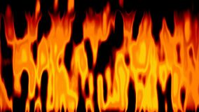 Abstract animated fire background seamless loop video