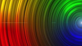 Abstract Animated Glowing multi Color Circles stripes and lines  Background Seamless loop. `You can use backgrounds for vfx, blog, vlogs, presentations stock footage