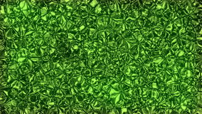 Abstract animated green background stock video