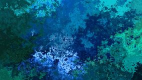 abstract animated stained background video blue green colors stock illustration