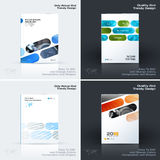 Abstract annual report, business vector template. Brochure desig. N, cover modern layout, poster, flyer in A4 with colourful rounded rectangles for tech, science vector illustration