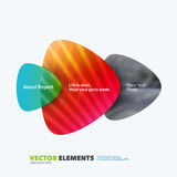 Abstract annual report, business vector template. Brochure design, cover. Abstract vector design elements for graphic layout. Modern business background template Royalty Free Stock Photo