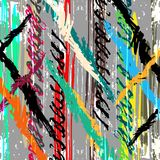 Abstract antique graffiti background Stock Images