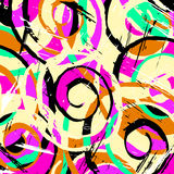 Abstract antique graffiti background. (vector eps 10 Royalty Free Stock Image