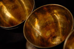 Abstract Antique Stemware Stock Photo