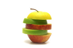 Abstract apple Royalty Free Stock Photography