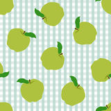 Abstract apple pattern background Stock Image