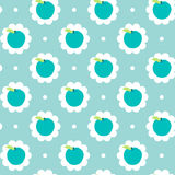 Abstract apple pattern background Royalty Free Stock Photography