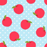 Abstract apple pattern background Royalty Free Stock Photo
