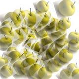abstract apples background Στοκ εικόνα με δικαίωμα ελεύθερης χρήσης
