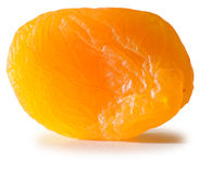 Abstract apricot. Isolated Royalty Free Stock Photo