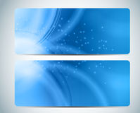 Abstract Aqua Background Card Vector Iillustration Royalty Free Stock Image