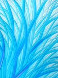 Abstract Aqua Blue White Grass Pattern Stock Photography