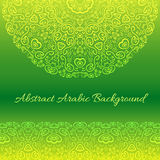 Abstract arabic background.  illustration Stock Photos