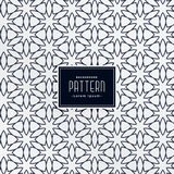 Abstract arabic decorative pattern background. Vector stock illustration
