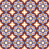 Abstract arabic islamic seamless geometric ornament pattern. Vector. Illustration Stock Photo