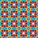Abstract arabic islamic seamless geometric pattern background. Vector illustration Royalty Free Stock Image