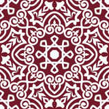 Abstract arabic or persian seamless Royalty Free Stock Photography