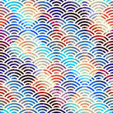 Abstract arc pattern Royalty Free Stock Photography