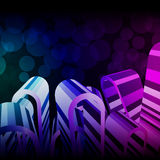 Abstract arch line. Illustration for your design stock illustration