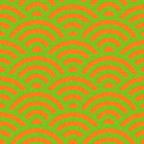 Abstract arched pattern - seamless background - citrus texture. Abstract arched pattern - seamless background - citrus color Royalty Free Stock Photo