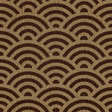Abstract arched pattern - seamless background - leather surface Stock Images