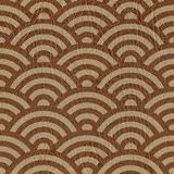 Abstract arched pattern - seamless background - leather texture Stock Photo