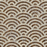 Abstract arched pattern - seamless background - paper texture Stock Photo