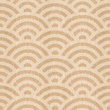 Abstract arched pattern - seamless background - White Oak wood Stock Photography