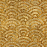 Abstract arched pattern - seamless background - wooden surface Royalty Free Stock Photos