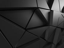 Abstract architecturaal patroon De achtergrond van de Poligonalmuur Stock Afbeeldingen