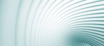 Abstract Architectural Background. Or Abstract Tunnel Vector Illustration